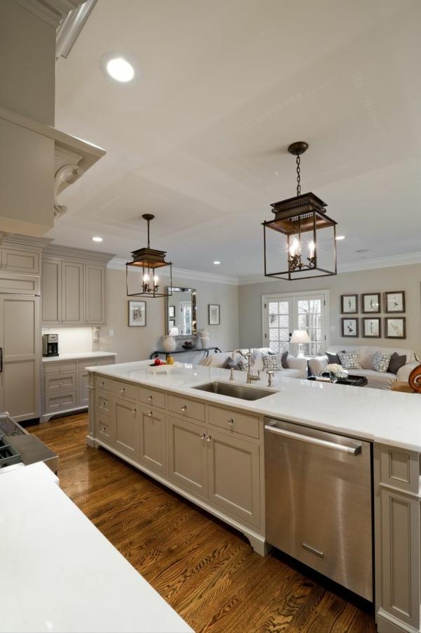 Moderne Kochinsel küchenblock freistehend