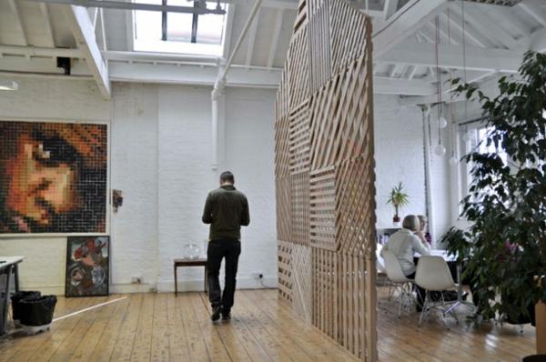 Raumteiler Holz design raumteiler dekor