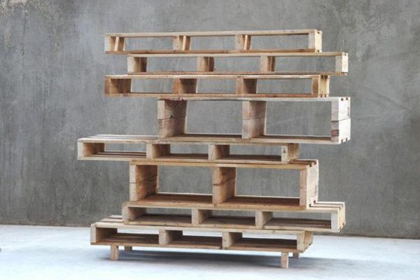 raumteiler ideen holz design raumteiler europaletten - Ideen Aus Holz