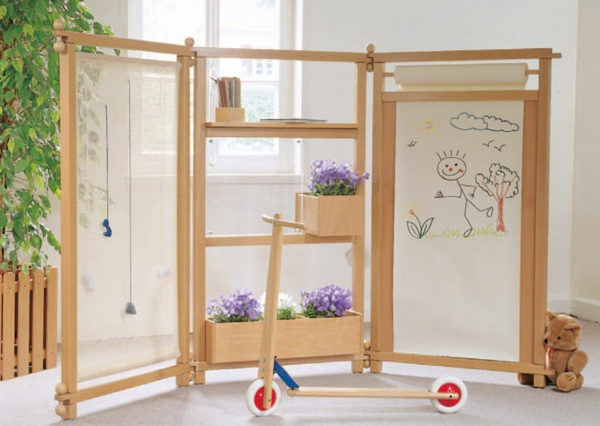 30 raumteiler ideen aus holz for Room dividers kids