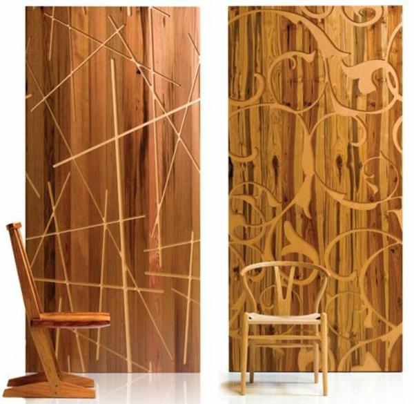 platten Ideen design raumteiler stuhl