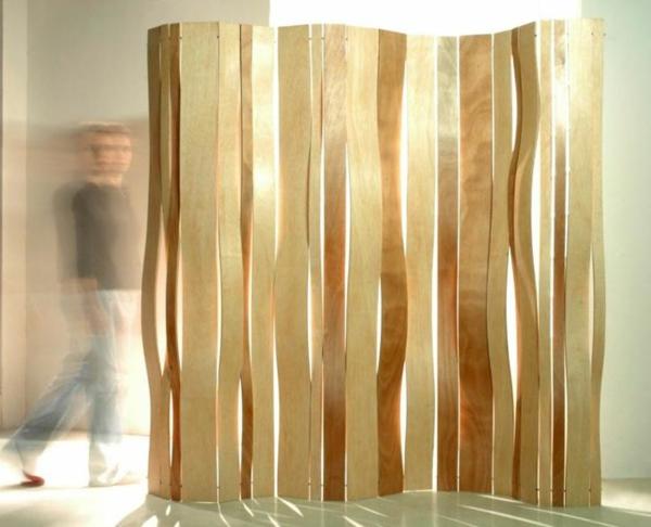 Mobile Raumteiler Wohnzimmer : Raumteiler Ideen aus Holz design ...