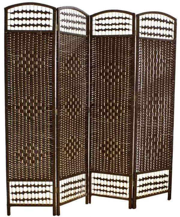 Raumteiler Ideen aus Holz design raumteiler