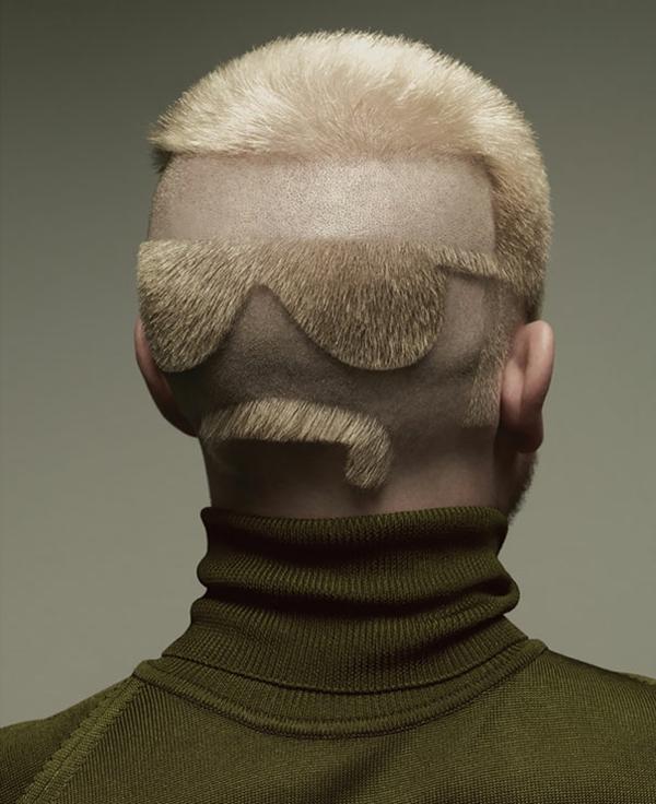 Schöne Haarschnitte lustige Frisuren Fotos blond