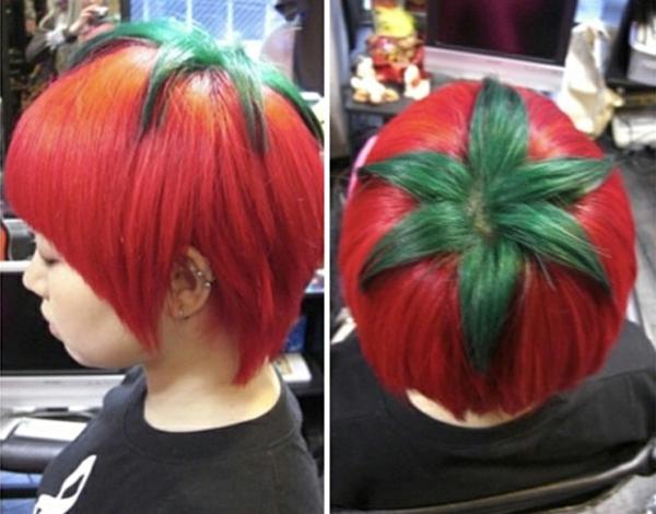 Bilder Lustige Frisuren Haarschnitt Lange Haare