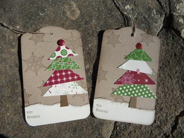 Schöne Weihnachtskarten selber basteln