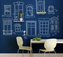 Tolle Wandgestaltung mit Farbe  – 100 Wand streichen Ideen