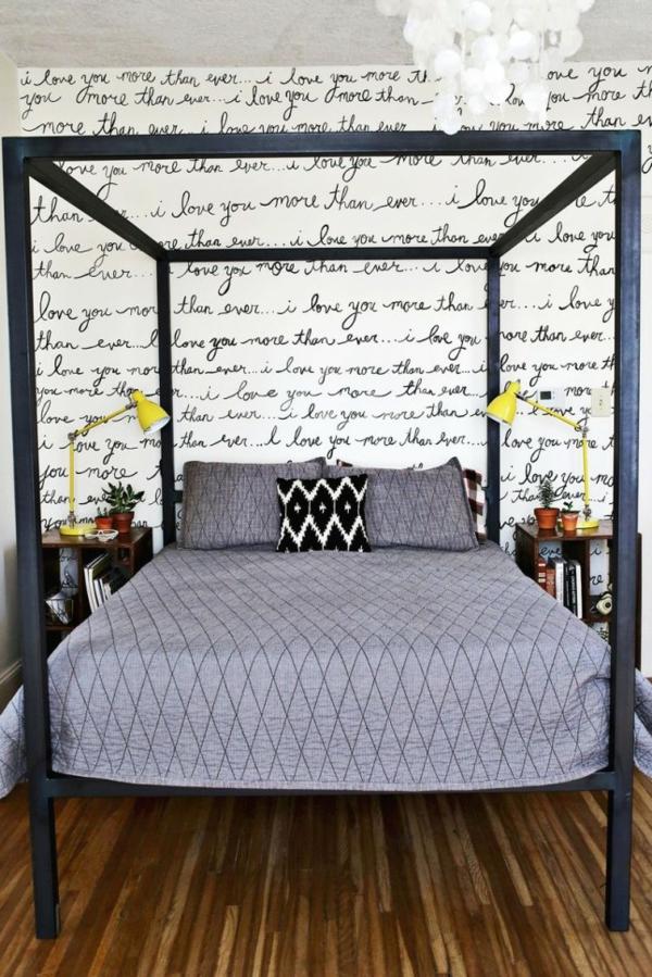 tolle wandgestaltung mit farbe 100 wand streichen ideen. Black Bedroom Furniture Sets. Home Design Ideas