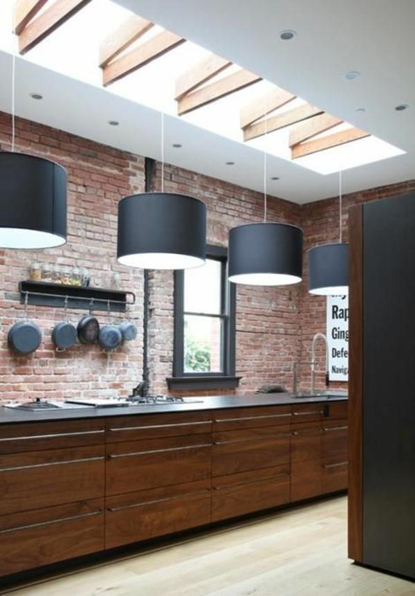 Wandgestaltung Farbe wände gestalten lampenschirme