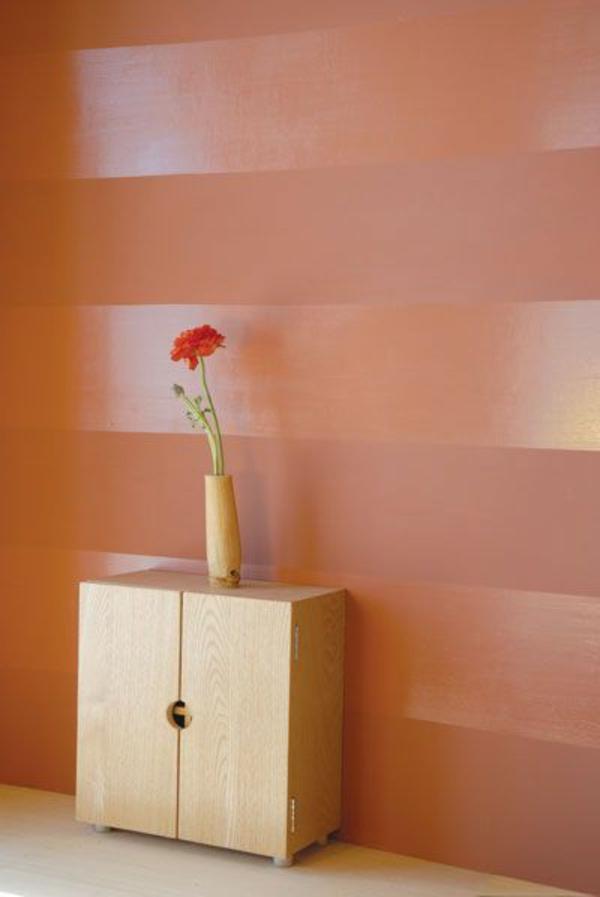 Wandgestaltung Farbe wände gestalten streifen