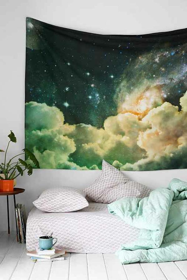 Tolle Wandgestaltung mit Farbe wand streichen ideen märchen