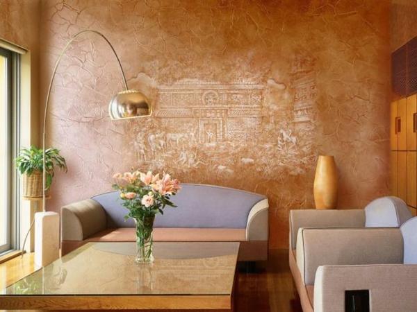 Wandgestaltung Ideen Mit Farbe ~ Speyeder U003d Verschiedene Ideen, Wohnzimmer  Design