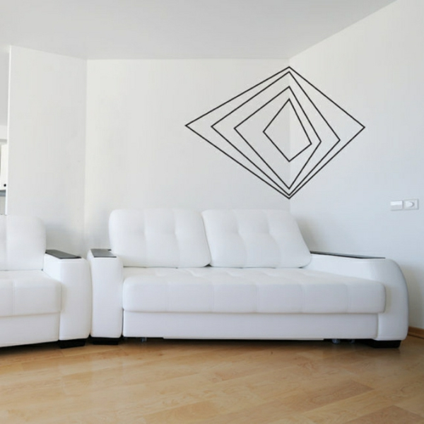 Tolle Wandgestaltung Mit Farbe Wandfarben Ideen