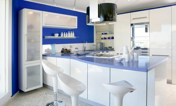 Tolle Wandgestaltung Farbe wandfarben ideen küche