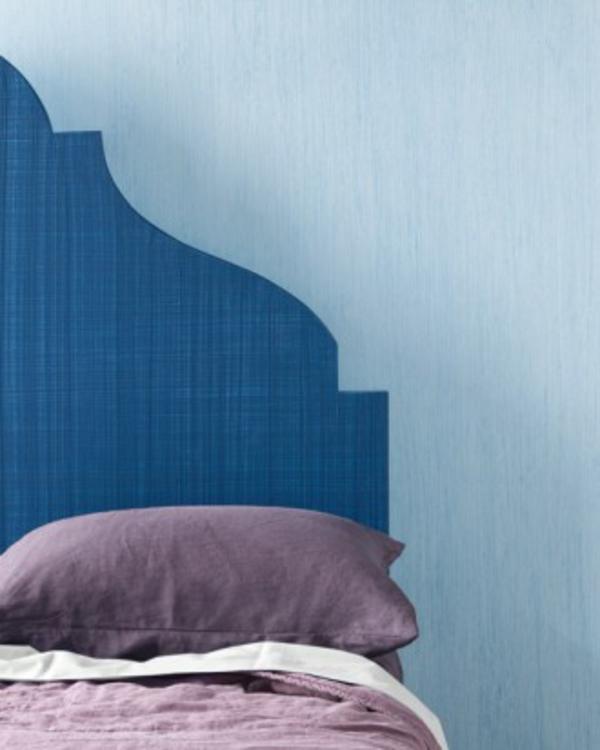 Tolle Wandgestaltung mit Farbe wandfarben ideen schlafzimmerwand