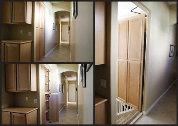 Geheimversteck Möbel versteckte geheimtüren in ihrem haus eingebaut