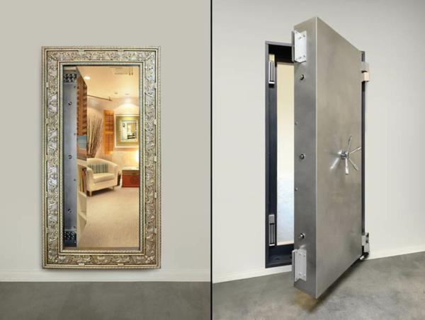 versteckte geheimt ren in ihrem haus eingebaut. Black Bedroom Furniture Sets. Home Design Ideas