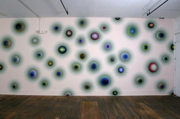 wanddeko farben kunst magisch gestalten