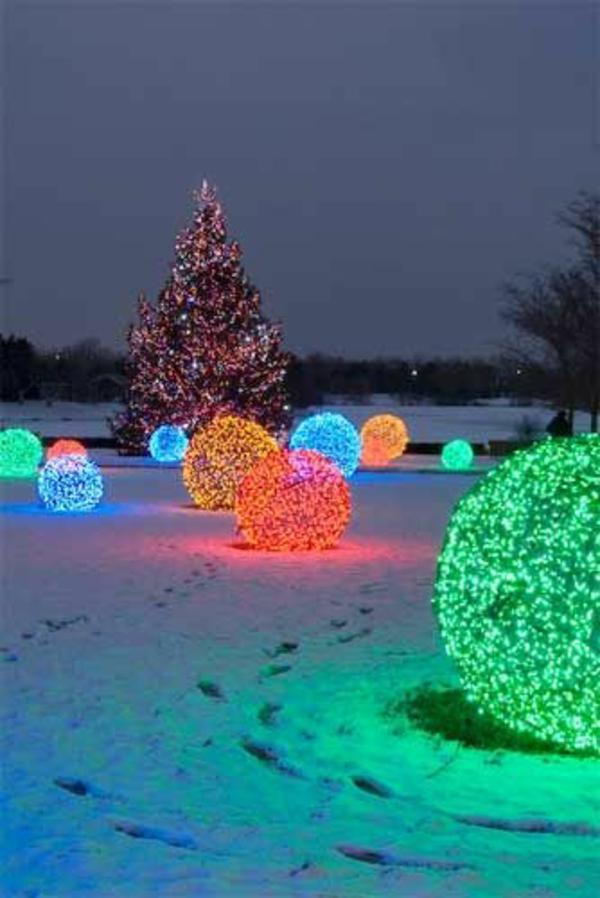 Weihnachtsbeleuchtung LED Lichterketten für Innen außen