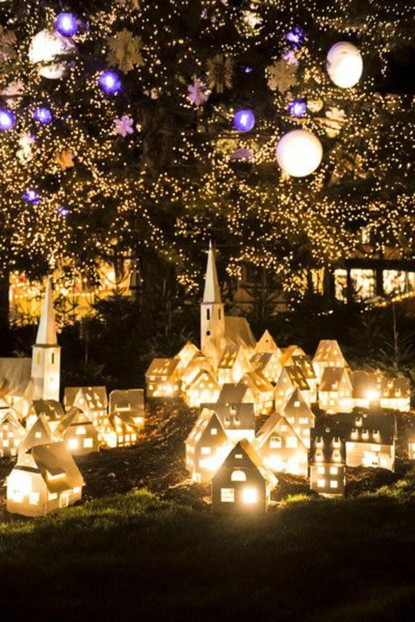 Weihnachtsbeleuchtung Lichterkette  für Innen frankreich