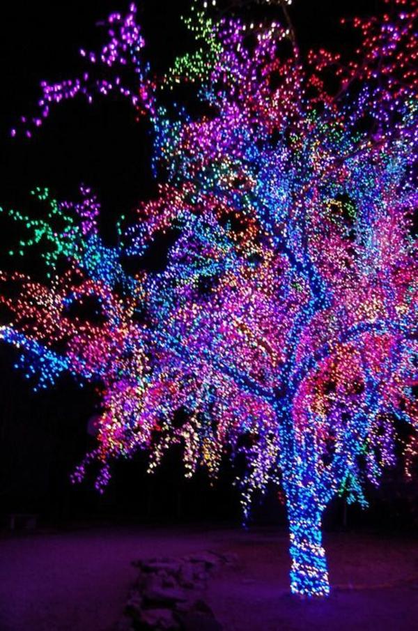 Weihnachtsbeleuchtung Lichterketten für Innen gartenbaum