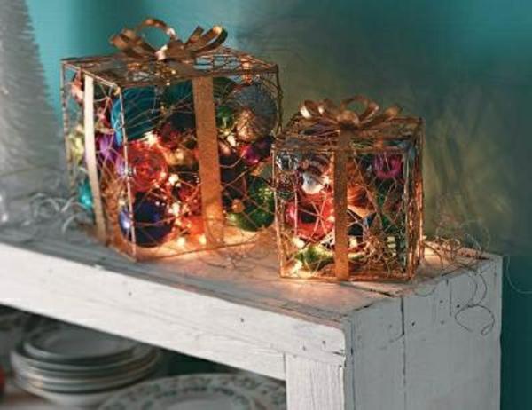 Weihnachtsbeleuchtung und LED Lichterketten für Innen geschenke