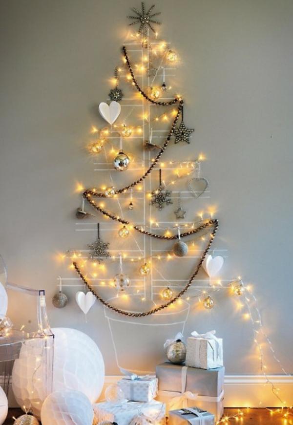Weihnachtsbeleuchtung und LED Lichterketten für Innen girlanden christbaum