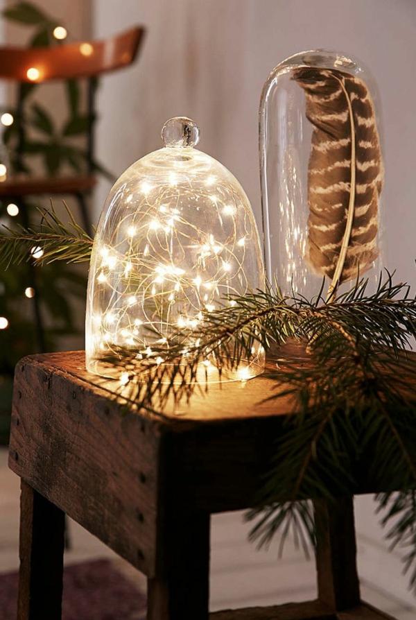 Weihnachtsbeleuchtung LED Lichterketten für Innen hell