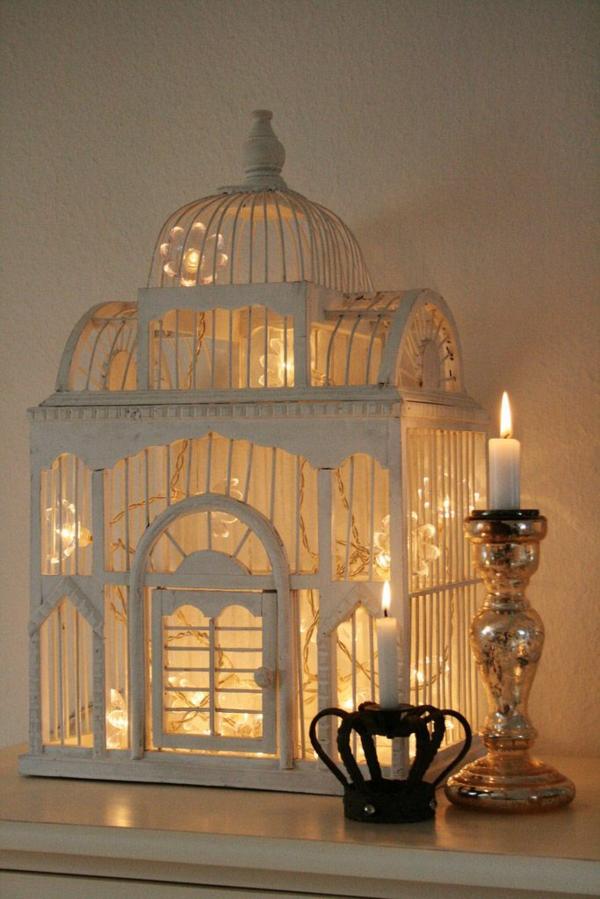 Weihnachten beleuchtung und LED Lichterketten für Innen käfig