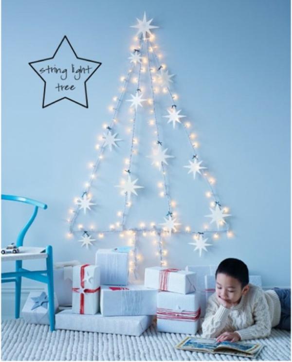 Weihnachten beleuchtung LED Lichterketten für Innen wand deko