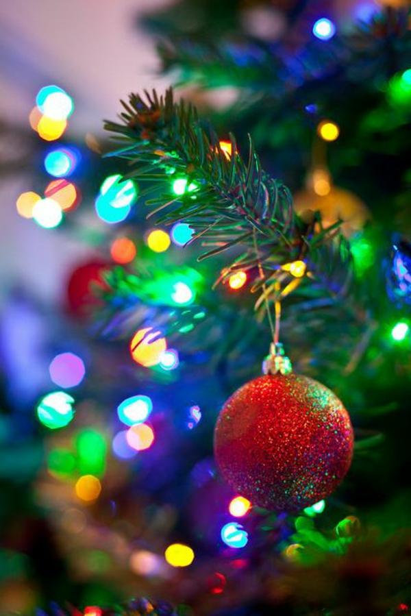 Weihnachtsbeleuchtung und Lichterketten für Innen weihnachtskugel