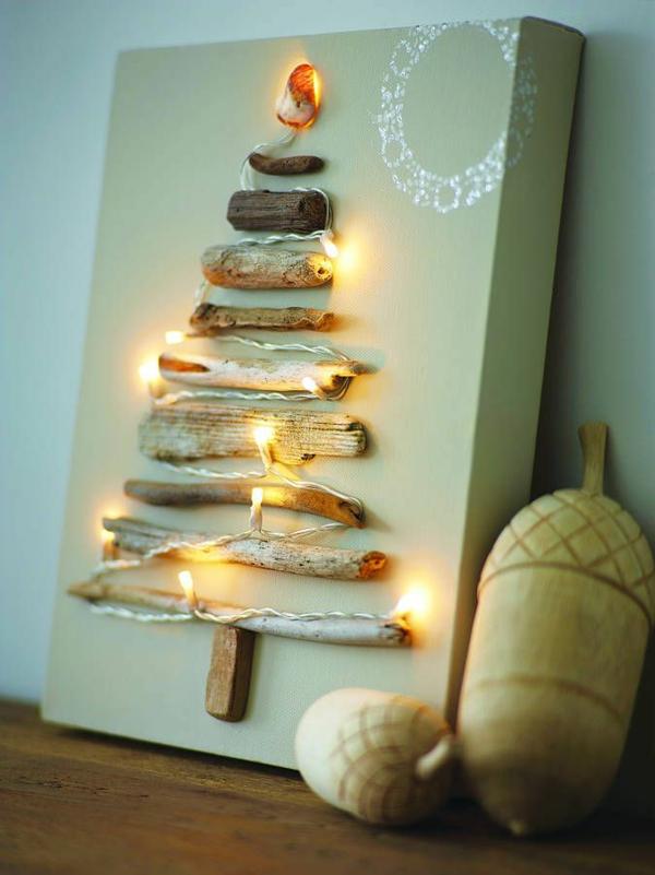 Weihnachtsbeleuchtung LED Lichterketten für Innen zweige
