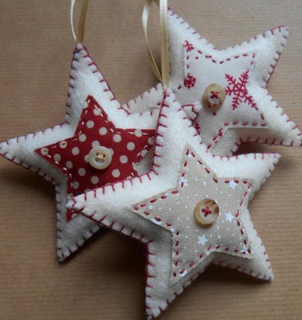70 weihnachtssterne basteln tolle und fr hliche diy for Weisse dekoartikel