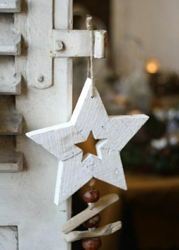 70 weihnachtssterne basteln tolle und fr hliche diy for Holzarbeiten vorlagen