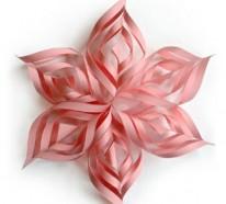 70 Weihnachtssterne basteln – tolle und fröhliche DIY Dekoartikel