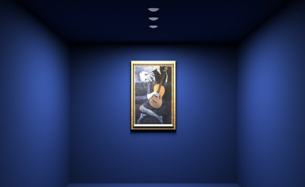 Zimmer Einrichtungsideen einrichtungstipps dunkel blau