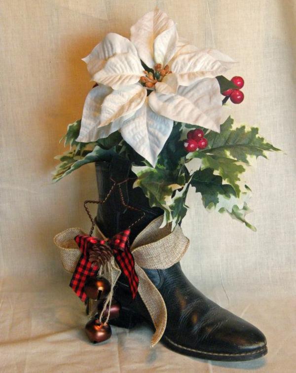adventsgestecke bilder weihnachten blumen weiß