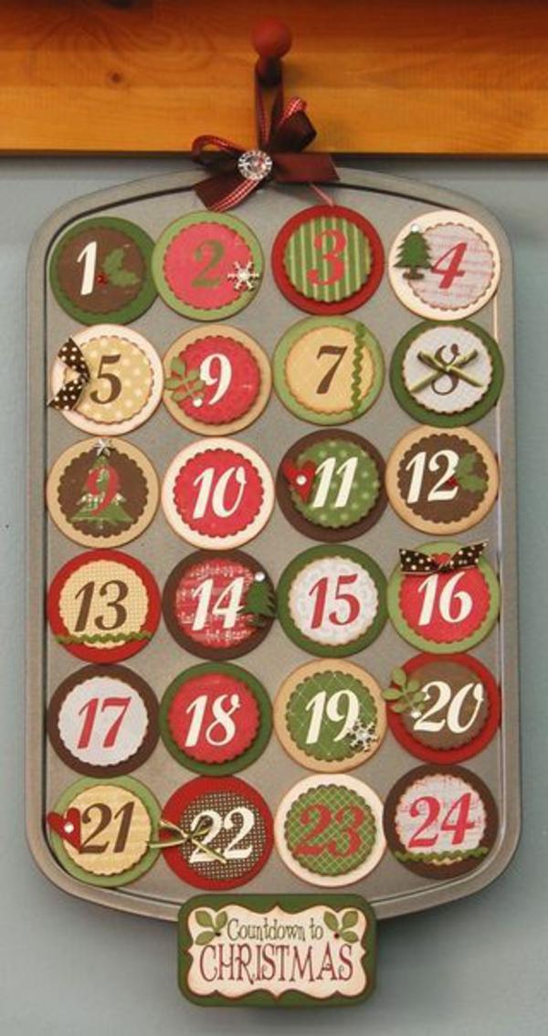 1001 adventskalender selbst gestalten bastelideen f r - Coole adventskalender ideen ...