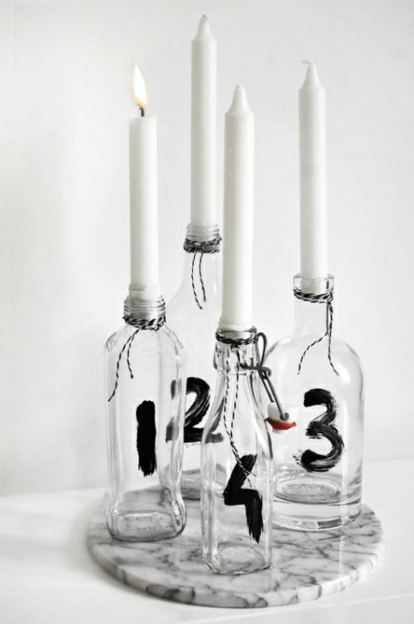 1001 adventskranz ideen und bilder f r ihre weihnachtsdeko. Black Bedroom Furniture Sets. Home Design Ideas
