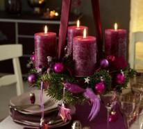 Adventskranz basteln und das schönste Familienfest genießen