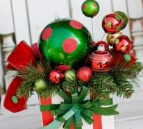 50 neue Weihnachtsgestecke selber machen
