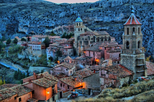 albarracin aragon spanien hotels