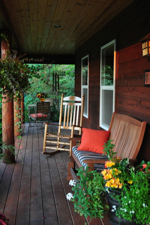 Design ideas for a front porch joy studio design gallery for Schaukelstuhl wiki