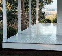 Wie können Sie eine Veranda bauen – Anleitung und praktische Tipps