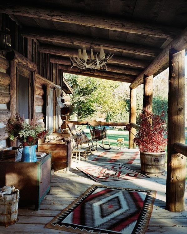 amerikanisches holzhaus landhaus mit vorbau holz veranda selber bauen. Black Bedroom Furniture Sets. Home Design Ideas