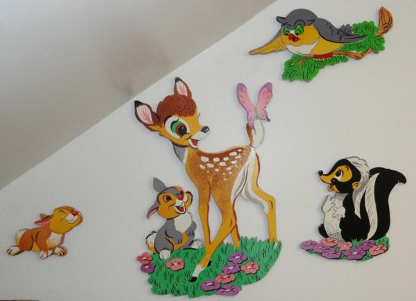 babyzimmer gestalten bambi