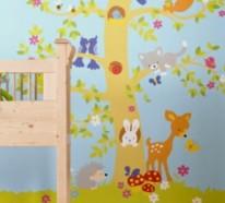 Babyzimmer Gestalten – süße Tier Muster für Ihre Kleinen