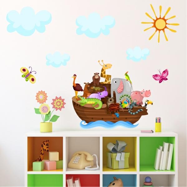 babyzimmer gestalten dschungel boot