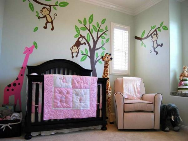 babyzimmer gestalten tiere