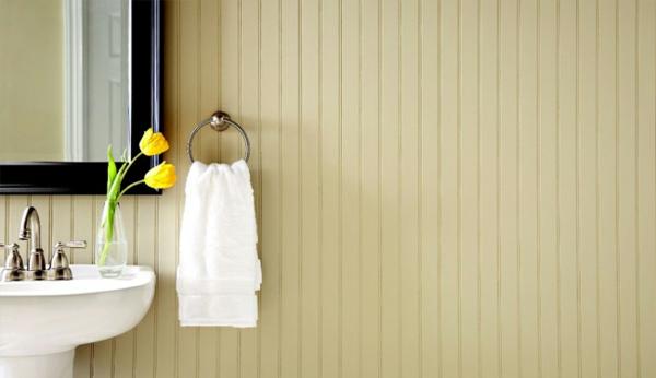 badezimmer wandfarben gelb wandfarbe pastellgelb wände streichen